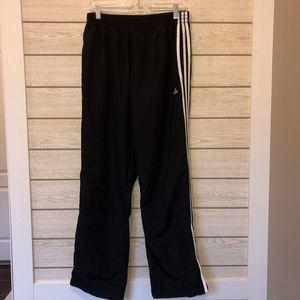 Adidas Windbreaker Track Jogging Pants - M